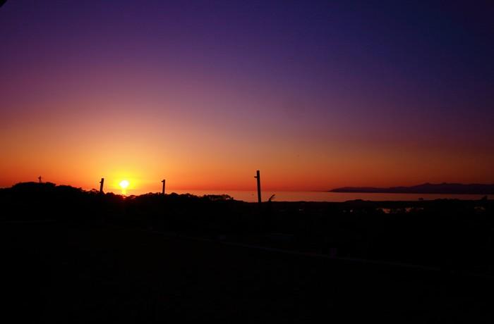 Sea Horse Ranch At Sunset