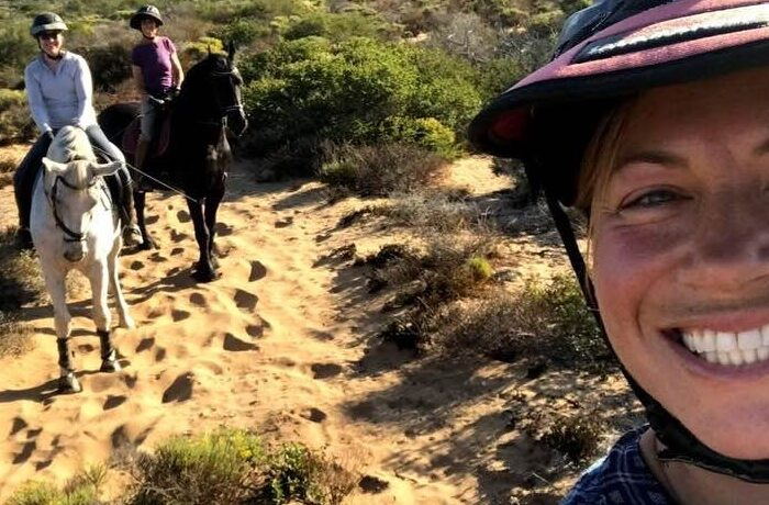 Trail Riding At Montana De Oro